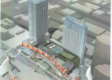 LA Center mixed-use residential & Hospitality Project