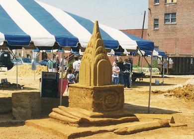 Sand Sculpture Competition