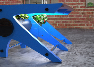Hydroponic Coffee Table- MAX