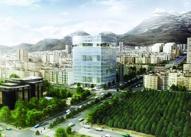 Tehran New Stock Exchange Headquarter