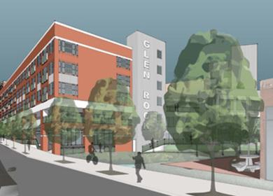 Glen Rock Apartments, Ashville, NC, LEED certified