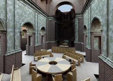 Ecumenical meeting space
