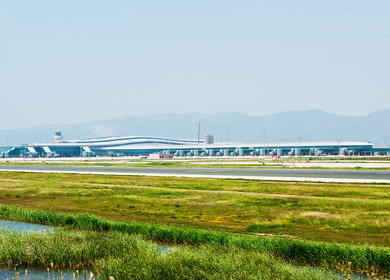 Terminal I at Barcelona Airport
