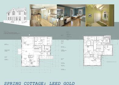 LEED Gold- Spring Cottage