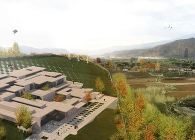 Bamiyan Cultural Centre: Metaphysics of Presence
