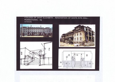 H2L2,(Built) College of Saint Elizabeth, Renovation of Santa Rita Hall, Morristown, NJ