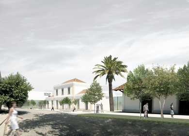 Museum in Mora - CVDB Arquitectos and Tiago Filipe Santos - Competition 1st prize
