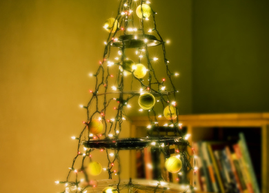 (Printed in Readymade Magazine) Recycled Christmas Tree