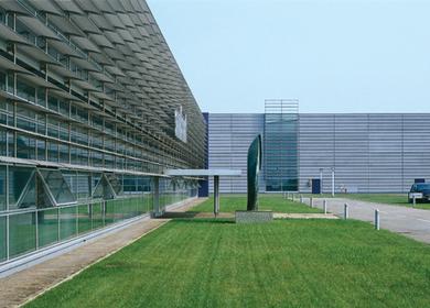 Rice fields and design - Sambonet headquarter