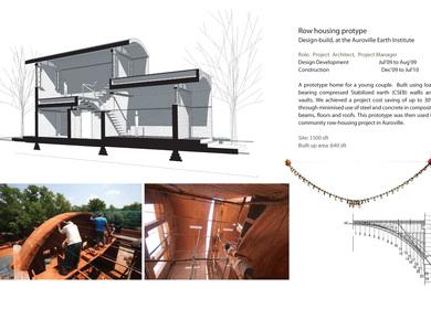 Row housing prototype