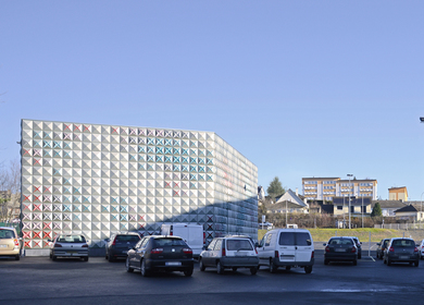 Techno-Prisme storage depot