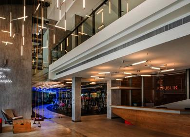 Aedas Interiors-designed Fit Republik in Dubai opens its doors