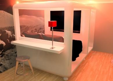 Mario Botta's San Vitale Cubic Hotel