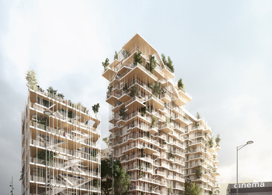 Canopia (By Sou Fujimoto Architects and laisné roussel)