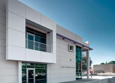 University o Redlands Art Center, Melrose Elem School, Sage Hill HS, Newport Harbor High