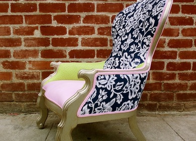 Ostrich Louis Chair