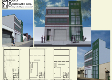 Warehouse and Office Space Building