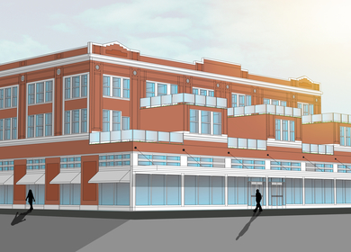 Adaptive and Sustainable Re-Use of the Kress Building