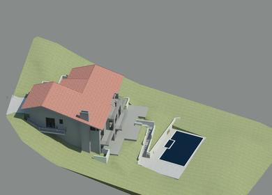 Preliminary Renderings of a Single Family Residence
