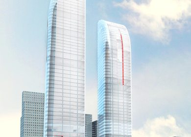 Greenland Yinchuan Super Tall Project