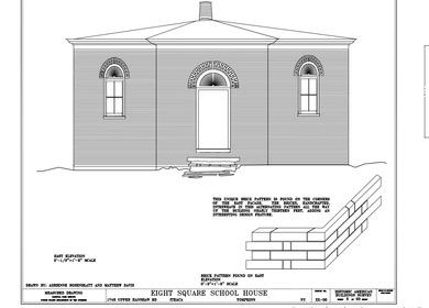 8 Square School House: April, 2010