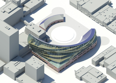 Solar Plaza Fargo - Form Emerges from Sustainable Design