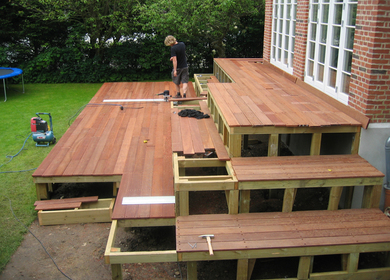 Exterior Residential Deck