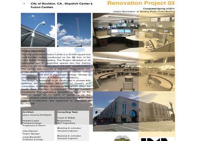 City of Stockton, CA., Dispatch Center & Fusion Centers