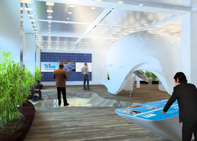 Trina Solar Showroom