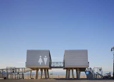 NYC Parks Department Beach Restoration Modular Structures