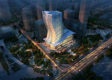 Yantai Finance Tower