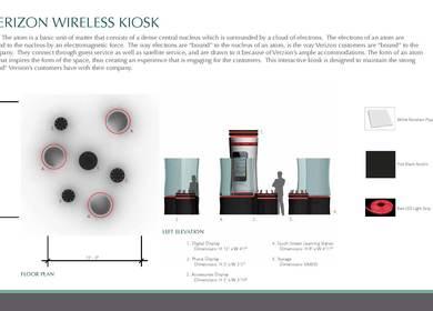 Verizon Wireless Kiosk