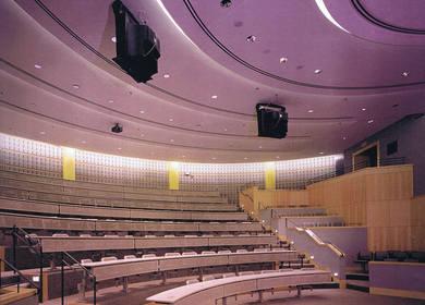 H2L2 (Built) Widener University Law School, Moot Court Room and Atrium,Wilmington, DE