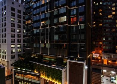 Aedas' residential tower Gramercy embodied with SOHO lifestyle