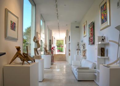 Modern Sculptor's Residence