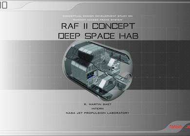 RAF II DShab: Random Access Frame 2 Deep Space Habitat