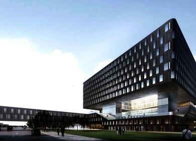 Aedas designs a postcard building for Novotel Hotel