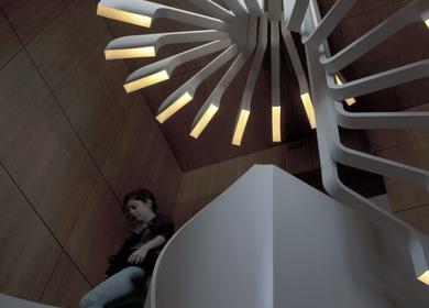 SAIFI RESIDENCE STAIRCASE