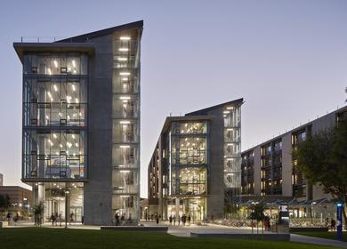 University of California, Irvine Mesa Court Towers