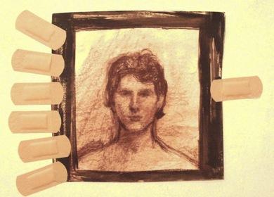 >>>bandaid portrait