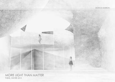 More Light Than Matter