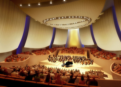 Bing Concert Hall - Composite Acoustical Panels