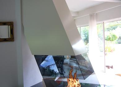 Free Hanging Fireplace
