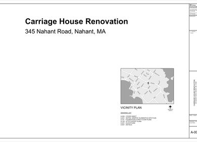 Nahant Carriage House