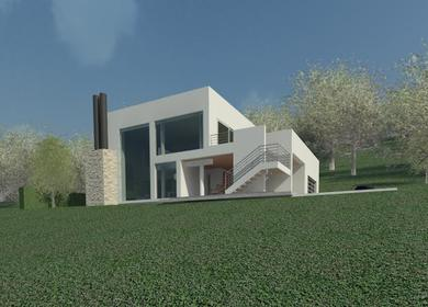 Proposed Modern House