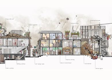 Curative Parasite MArch Urban Design Thesis