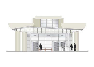 Roosevelt Entrance Modifications