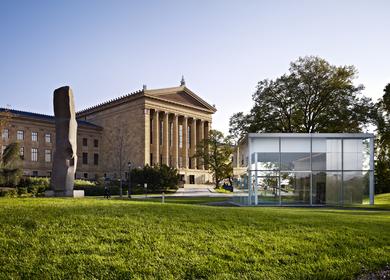Philadelphia Museum of Art Anne d'Harnoncourt Sculpture Garden & Parking Facility