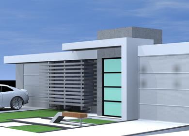 Alejandro Dominguez facade remodelling