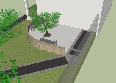 Wastewater Treatment Plant Entrance